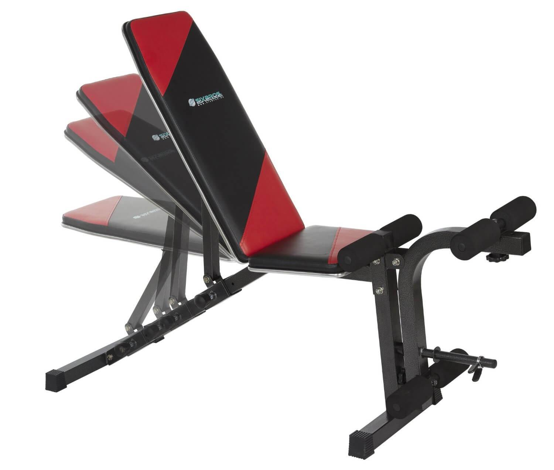 La SixBros è un modello di panca per addominali molto versatile