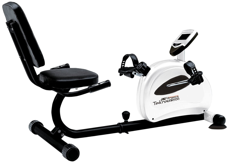 Cyclette Orizzontale con schienale JK Fitness Tekna 2300