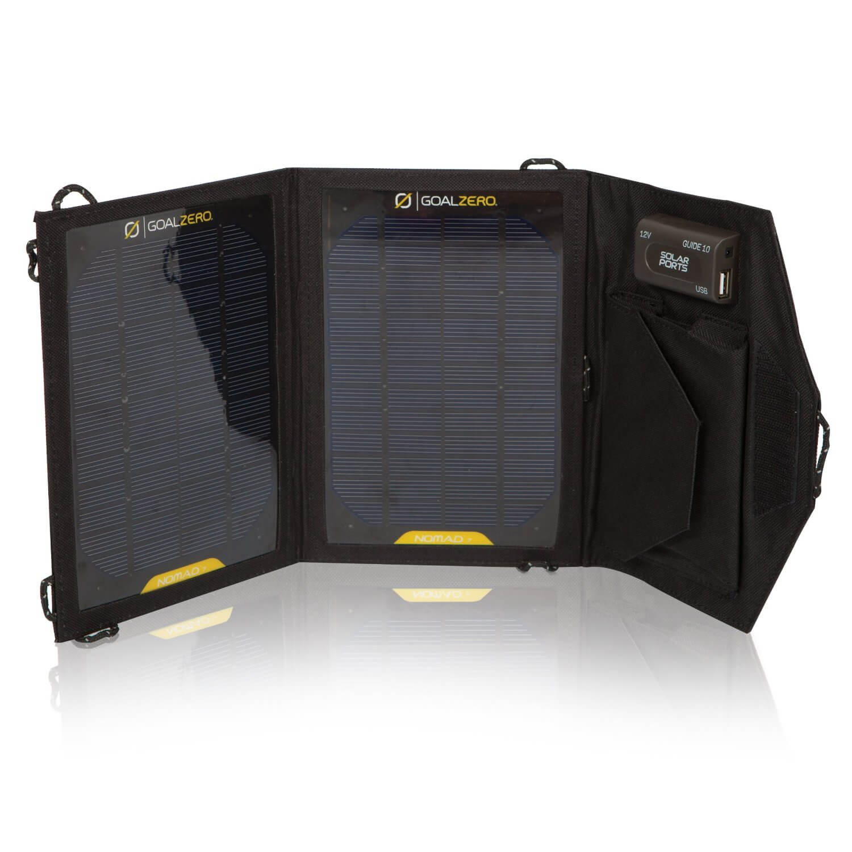 Pannello Solare Portatile Usato : Power bank per il campeggio