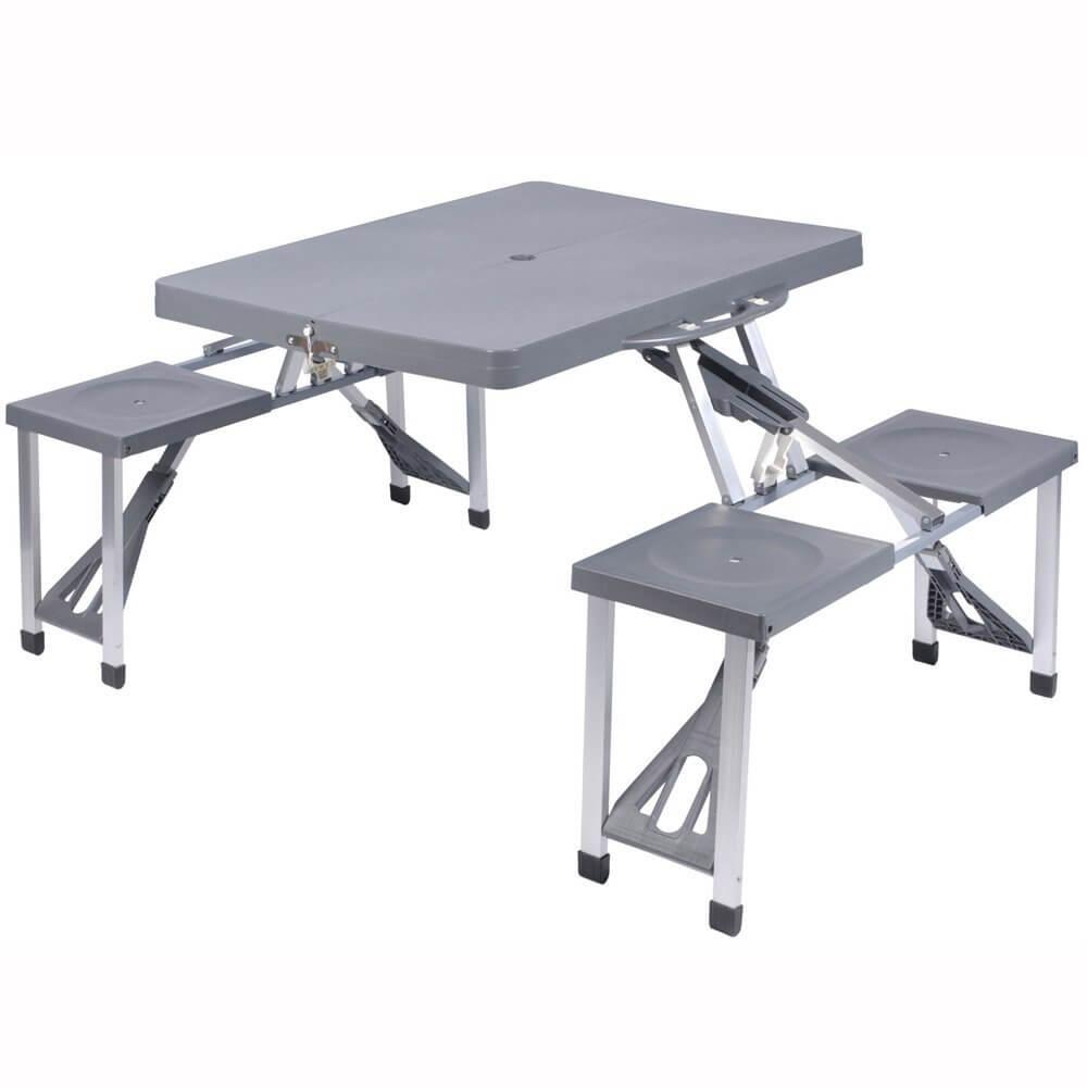 Tavolini da campeggio pieghevoli prezzi allumio e plastica for Tavolo plastica pieghevole