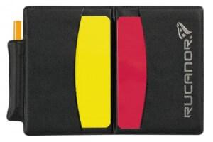 Cartellino Rosso e Giallo dell'Albitro