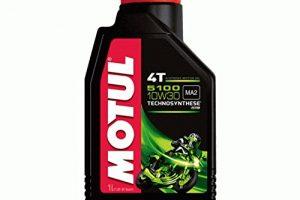 Olio Motore 10W30 Moto Tagliando