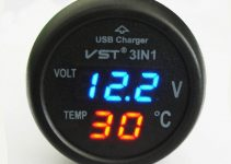 Voltmetro per Auto